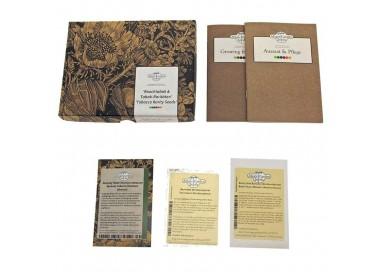 Kit Regalo semillas de tabaco con 3 tipos de nicotina