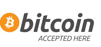 Pago con Bitcoin y Criptomonedas aceptado